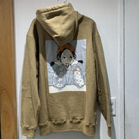 "over print×9090""POP ART PULLOVER HOODIE"""