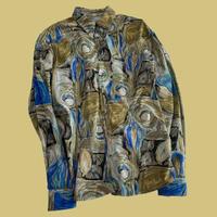 vintage euro art print 80s shirt