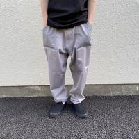 over print baker pants