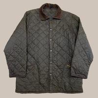 vintage euro Barbour nylon quilting jacket
