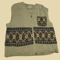 vintage euro linen vest