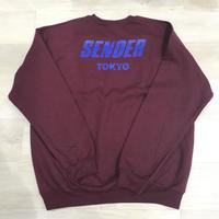 SENDER TOKYO STORE LOGO CREWNECK