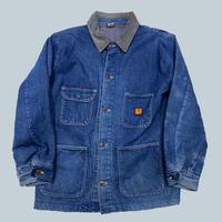 old 80s BIG BEN denim coverall jacket