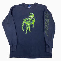 old alien l/s tee MADE IN USA