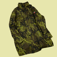 military 90s Czech camo jacket dead stock