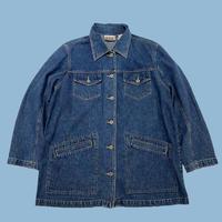 vintage euro design denim jacket