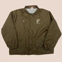 vintage us over size print nylon coach jacket USA製