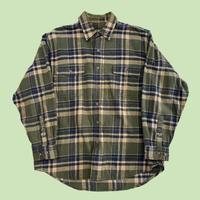 vintage euro check flannel shirt