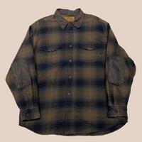 vintage us heavy flannel shirt