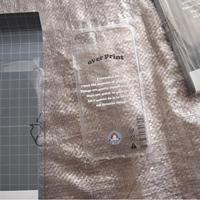 overprint/Clear iPhone case