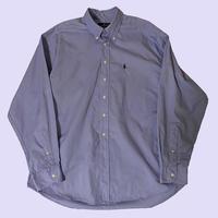 vintage Ralph Lauren poly cotton shirt