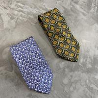 old euro dunhill silk100% necktie