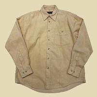 vintage euro plain corduroy shirt