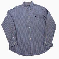 old Ralph Lauren Blue stripe shirt