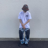 over print Delivery Tee