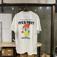over print DEATH Tee