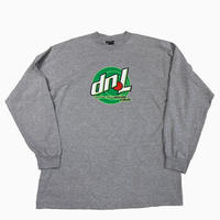 old 7up upside down l/s tee