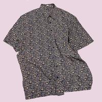vintage euro design print shirt
