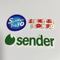 SENDER TOKYO Sticker Pack