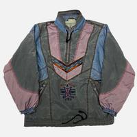vintage euro silk cotton design jacket