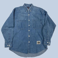 old GAP denim shirt