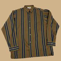 vintage euro stripe dress shirt