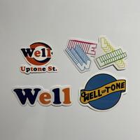 20ss WELL UPTONE STREET Sticker Pack Vol.4