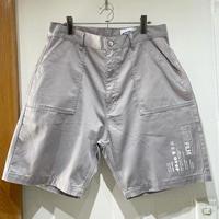 over print/baker half pants *WONDER VISITOR (gray)