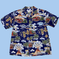 vintage Hawaiian cotton shirt MADE IN HAWAII