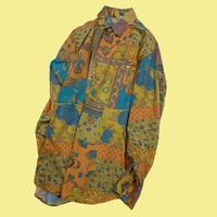 vintage euro pastel color shirt