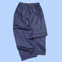 vintage euro satin pajama pants