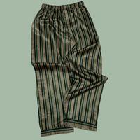 vintage euro satin stripe pajama pants
