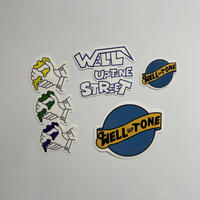 20ss WELL UPTONE STREET Sticker Pack Vol.3