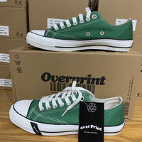 over print/Crush over print sneaker/GREEN