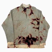 old Columbia remake bleach fleece jacket