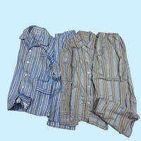 vintage euro pajama cotton room wear set up