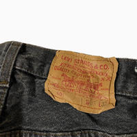 old Levi's 501 black MADE IN USA