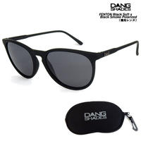 DANG SHADES ダンシェイディーズ FENTON Black Soft x Black Smoke Polarized(偏光レンズ)サングラス  ダン・シェイディーズ