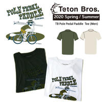 Teton Bros. ティートン ブロス  TB Pole Pedal PaddleII Tee Men TB201-33M メンズ Tシャツ 半袖 2020 Spring&Summer