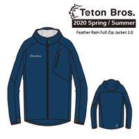 Teton Bros. ティートン ブロス  Feather Rain Full Zip Jacket 2.0 Unisex  TB201-01M 2020 Spring&Summer