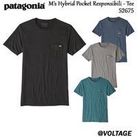 パタゴニア patagonia M's Hybrid Pocket Responsibili - Tee 52675 メンズ・ハイブリッド・ポケット・レスポンシビリティー 正規品 2019 春モデル
