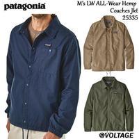 パタゴニア patagonia M's LW ALL-Wear Hemp Coaches Jkt 25335 メンズ・ライトウェイト・オールウェア・ヘンプ・コーチズ・ジャケット 正規品 2019 春