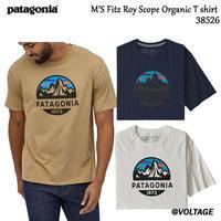 パタゴニア patagonia M'S Fitz Roy Scope Organic T shirt  38526 メンズ・フィッツロイ・スコープ・オーガニック・Tシャツ