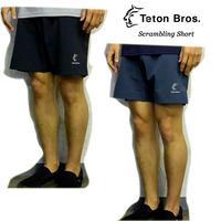 Teton Bros. ティートン ブロス Scrambling Short Black Slate メンズ ショートパンツ ハーフパンツ 2019 Spring Summer TB191-61M