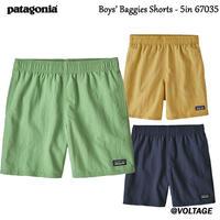 パタゴニア Boys' Baggies Shorts - 5in 67035 ボーイズ・バギーズ・ショーツ5インチ 子供用