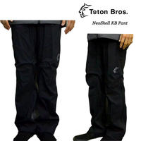 Teton Bros. ティートン ブロス NeoShell KB Pant Navy Black メンズ パンツ フロントジッパー 2019 Spring Summer TB191-05M
