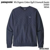 パタゴニア Patagonia M's Organic Cotton Quilt Crewneck Sweats 25320 NENA XXS メンズ・オーガニックコットン・キルト・クルーネック