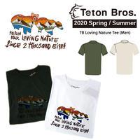 Teton Bros. ティートン ブロス  TB Loving Nature Tee Men TB201-34M メンズ Tシャツ 半袖 2020 Spring&Summer