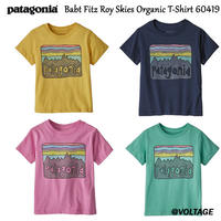 パタゴニア Babt Fitz Roy Skies Organic T-Shirt 60419 ベビー・フィッツロイ・スカイズ・オーガニック・Tシャツ 子供用