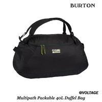 BURTON Multipath Packable 40L Duffel Bag True Black パッカブル ダッフルバック バックパック バック 2019 Spring&Summer